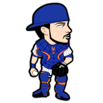 Travis Darnaud Mets Cartoon