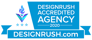 DesignRush Accredited Badge